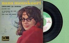 NANA MOUSKOURI / FONTANA 460.842 ME Pressing France 1962 EP EX Autographed
