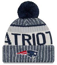 New England Patriots New Era NFL On Field Sideline Sport Knit Hat 2017 / 2018