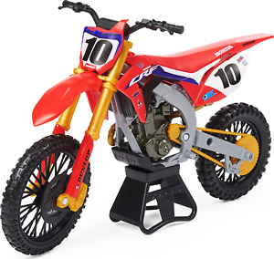 Justin Brayton 1:10 Scale Collector Die-Cast Motorcycle Replica Display Stand