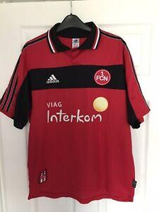 Nuremberg Football Shirt 1999-01 Adidas Medium Vintage Soccer Jersey