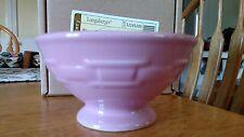 Longaberger SALE on PINK Ice Cream Bowls