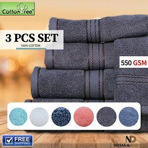 100% Cotton Bath Towel Hand Towel Face Washer Bath Mat Towel Set Luxury Egyptian