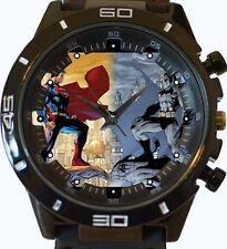 Superman Vs Batman Comic Stil Neu Gt Serie Sport Unisex Geschenk Uhr