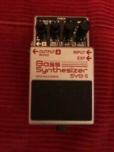 BOSS SYB-5 Bass Synthesizer