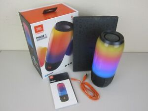 JBL Pulse 3 Wireless Portable Bluetooth Speaker - Black (Very Good Condition)