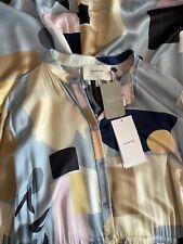 ANTHROPOLOGIE MUNTHE Abstract Printed Silk Maxi Shirt Dress Size XL RRP £369