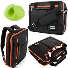 "3-in-1 Laptop Shoulder Bag Backpack Briefcase for 11.6""Acer Dell+Cable Organizer"