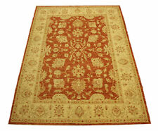 Real Rug Brick Manufacture 203x148 CM 100% Wool Hand Knotted Terra Beige