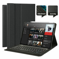 """US Apple iPad Pro 11"""" inch Wireless Bluetooth Keyboard Leather Stand Case Cover"""