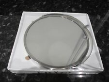 IKEA FRACK Extendable Stainless Steel Wall Round Mirror/Magnify Shaving Mirror