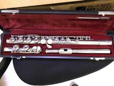 Used Yamaha YFL-211 Silver Flute with Case Rare GC Frome JP