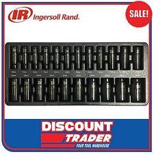 Ingersoll Rand 22Pc 1/2″ Drive 6 Point Metric Deep Impact Socket Set - SK4M22LA