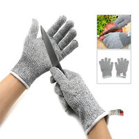 1pair L Cut Resistant Gloves For Meat Cut GardeningWood Carving Food Grade Level