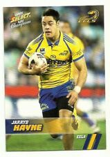2008 NRL SELECT CHAMPIONS PARRAMATTA EELS JARRYD HAYNE #116 COMMON FREE POST