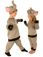 Kids Elephant Costume - Animal Suit for Children - Party, Halloween - 6-8 Years