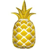 """44"""" Pineapple Mylar Foil Balloon Party Decorating Supplies"""