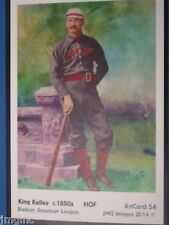 King Kelley, Boston,  ArtCard #54 - Baseball card  of HOF player c.1880s