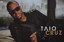 TAIO CRUZ - A3 Poster (ca. 42 x 28 cm) - Clippings Fan Sammlung NEU