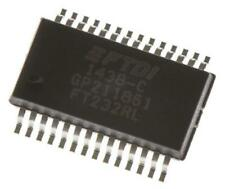 2 x FTDI Chip FT232RL USB Controller TTL RS232 3MBd, USB 2.0 1.8-5.25 V SSOP-28