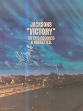 "(SFBK46) POSTER/ADVERT 14X11""  MICHAEL JACKSON'S  VICTORY ON EPIC"