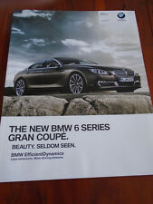 BMW 6 Series Gran Coupe brochure 2012 ed 2