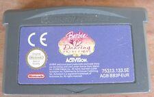BARBIE E LE 12 PRINCIPESSE DANZANTI (2007) GAMEBOY ADVANCE ITA