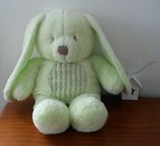 PELUCHE Doudou Lapin Tex baby vert anis grand modele nicotoy TBE