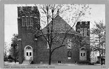 Bucyrus Ohio First Evangelical Church Exterior Antique Postcard K25352