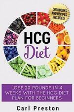 HCG Diet : HCG Diet Plan: HCG Diet Cookbook with 50 + HCG Diet Recipes and Vi...