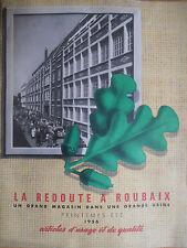 Catalogue de mode la Redoute 1956