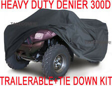 Yamaha Grizzly Raptor 600 660 ATV Trailerable Cover HEAVY DUTY+TIE DOWN KIT X1