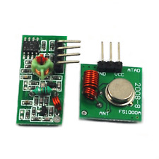 Practical 433Mhz RF Transmitter Receiver For Arduino Raspberry Pi Wireless NEW