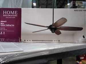 Home Decorators Collections Altura II 68 in. Indoor Bronze Ceiling Fan w/ Remote