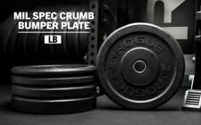 NEW Rogue Fitness US-MIL SPEC Bumper Plates - (10lb x 2 = 20lbs total)