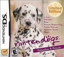 Nintendogs: Dalmatian & Friends (Nintendo DS, 2006) Limited Edition