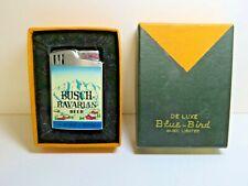 Busch Bavarian Beer Blue Bird Musical Lighter with box