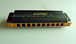 Easttop T008S  Harmonica in key of B - diatonic 10 hole
