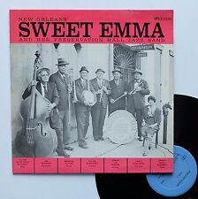 "Vinyle 33T Sweet Emma  ""New Orleans Sweet Emma and her preservation hall jazz.."""
