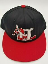 Vintage Hickory Crawdads Pro-Line Fitted Hat Deadstock Rare 7 90's Defunct