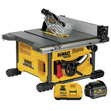 "DEWALT FlexVolt 8-1/4"" Table Saw Kit w/ Battery DCS7485T1R Certified Refurbished"