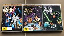 Star Wars 4, 5 & 6. A New Hope, Empire Strikes Back, Return Of The Jedi $9 each
