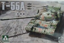 Takom Models 1/35 scale kit 2056, T-55A Russian medium tank.