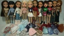 "MGA Bratz 10"" - 11 dolls, clothes Winter & Funk Out, Nevra, Dana - Lot Bz 44"