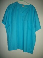 Plus Ladies Scrub Top By Med Ex.Size 2X.New With Tags !