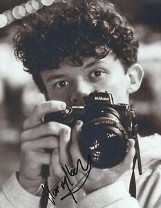 "HARRY HOLLAND  AUTOGRAPH SIGNED 10"" X 8""  PHOTO   COA 55 --"