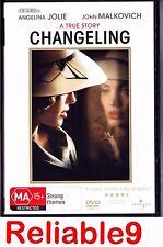 Angelina Jolie+John Malkovich- Chageling DVD + Special features Region4-2009 AUS