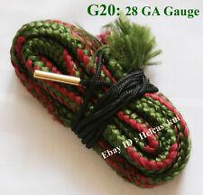 Bore Snake Cleaning 28 GA Gauge Boresnake Shotgun Pistol Barrel Brass Cleaner