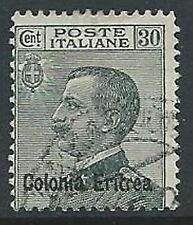 1925 ERITREA USATO EFFIGIE 30 CENT - U17-7