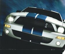 2007 Ford MUSTANG Brochure w/ Color Chart: SHELBY GT500,GT-500,Convertible, NOS!