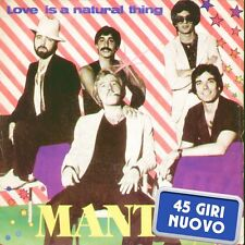 "MANTUS "" LOVE IS A NATURAL THING + FIRE "" 45 GIRI NUOVO 1980 FI TEAM  ITALY"